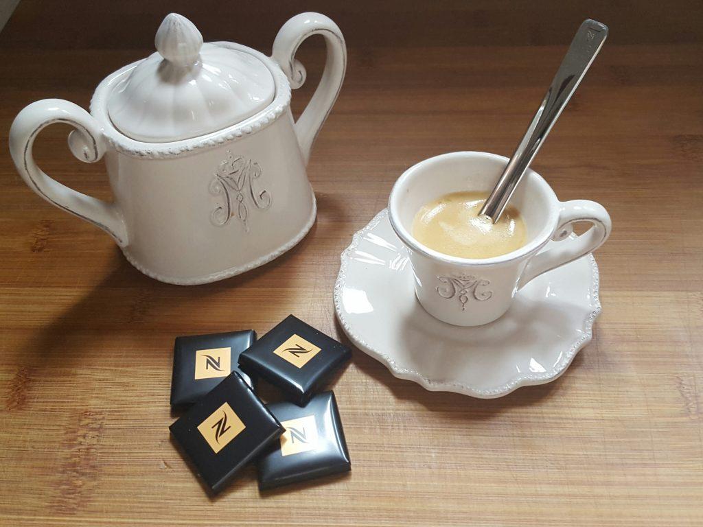 Café y chocolate apaisada